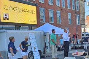 GoGo Band is accepted into a Lighthouse Labs accelerator program during the RVATech/jam.
