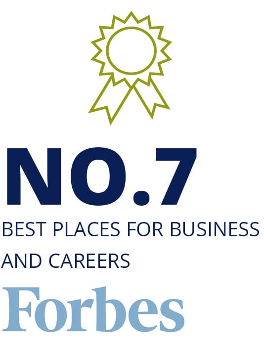 No.7 Best Places for Business and Careers