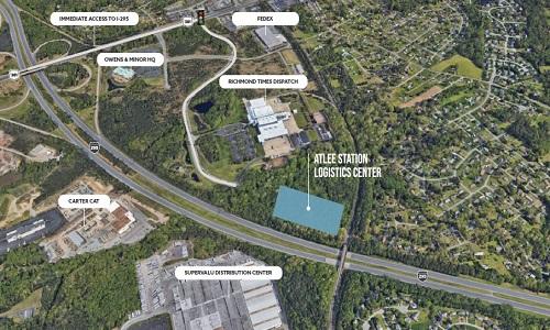 Atlee Station Logistics Center - Location