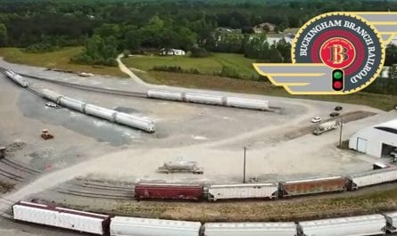 Buckingham Branch Railroad Doswell Transload Facility