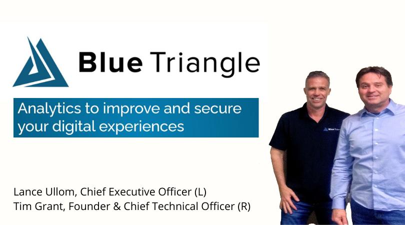 Blue Triangle Logo