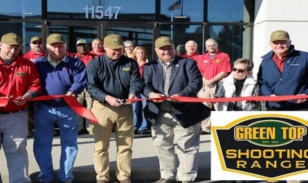 Green Top Shooting Range-Ribbon Cutting 12-7-19