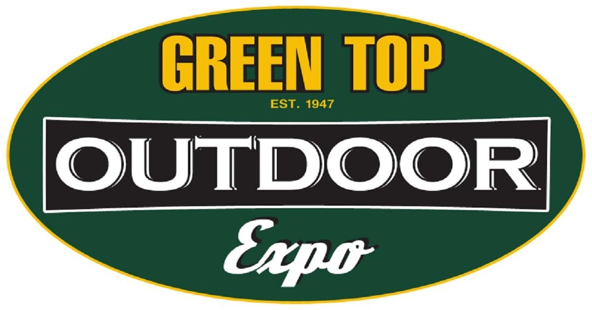 Green top outdoor expo logo