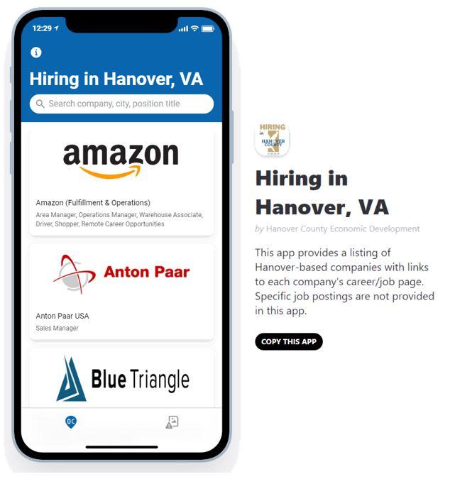 Hanover Job Board App