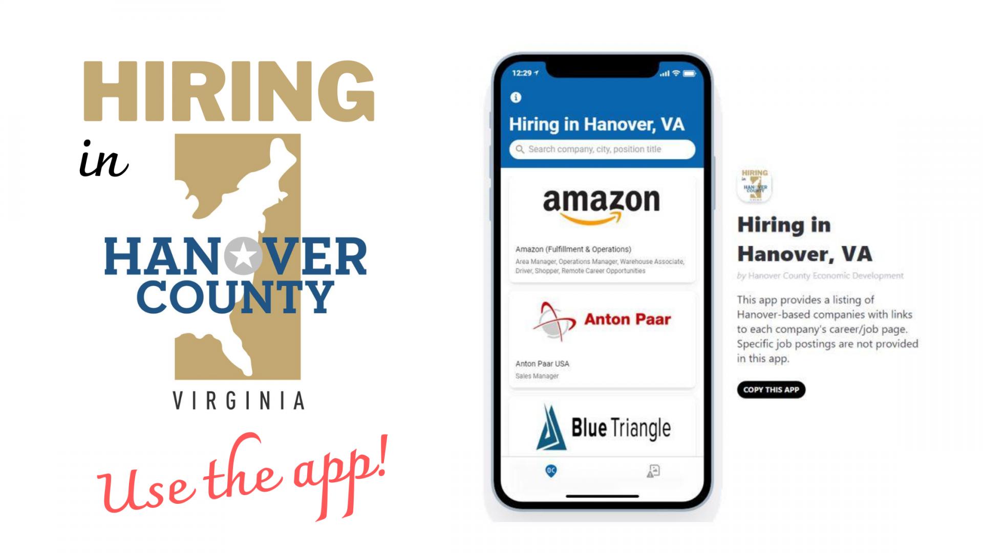 Hiring In Hanover App Image