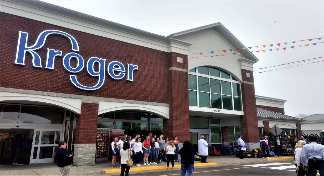 Mechanicsville Turnpike Kroger store grand reopening