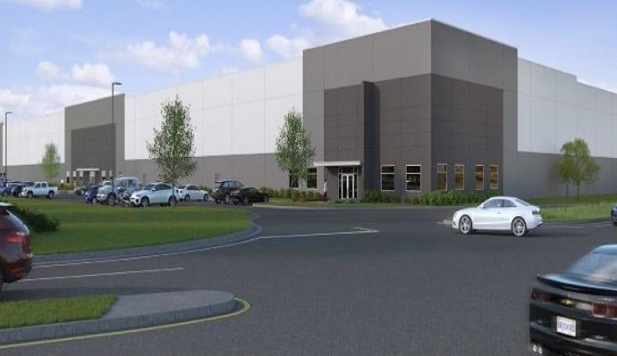 Northlake Commerce Center building rendering