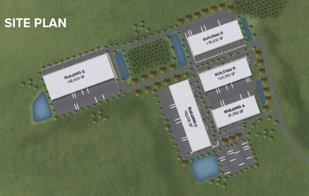 Northlake II - Site Plan
