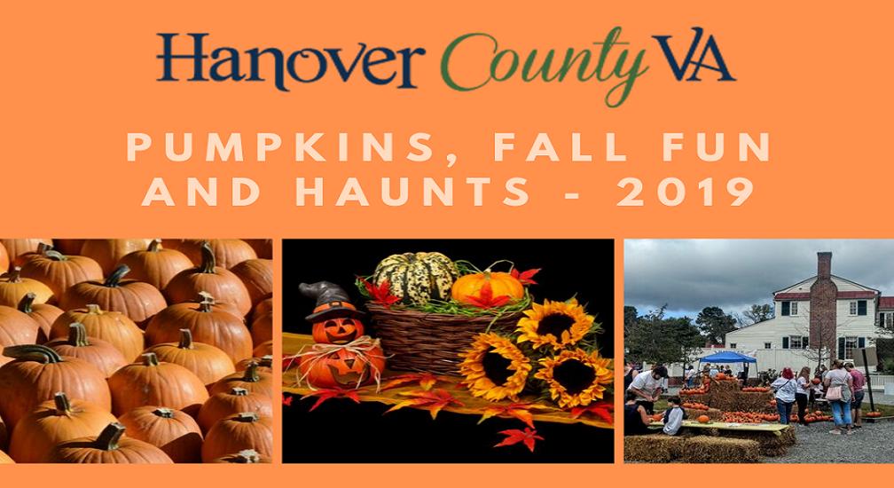 Pumpkins, Fall Fun and Haunts 2019 Visual