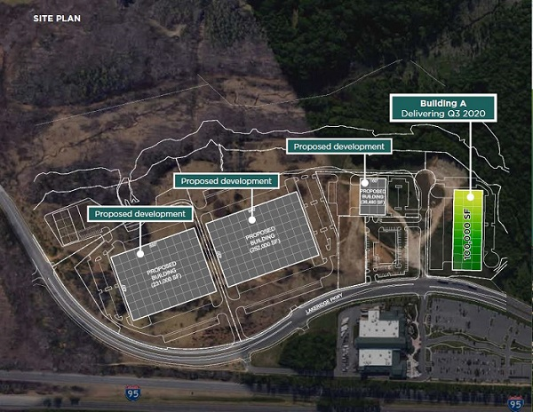 Winding Brook Industrial Park Site Plan