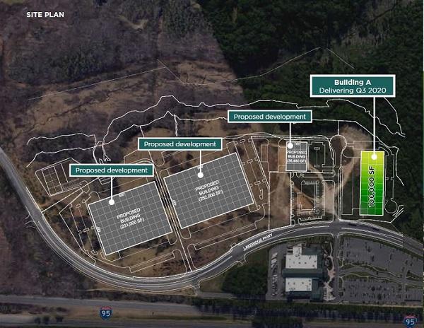 Winding Brook Industrial Park - Site Plan