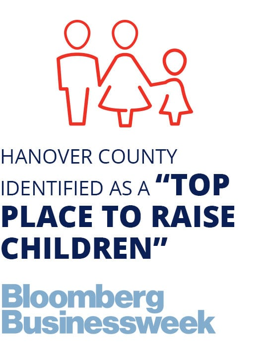 "Hanover County identified as a ""Top Place to Raise Children"""