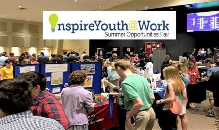 Inspire Youth at Work Summer Opportunities Fair