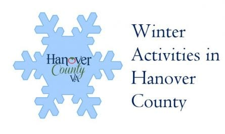Winter Activities in Hanover County with a snowflake